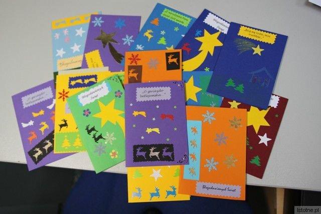 Oprócz wejściówki na koncert darczyńcy otrzymają własnoręcznie przygotowane przez wychowanków Domu Dziecka przepiękne kartki z życzeniami świątecznymi