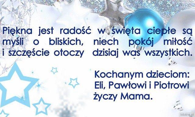 Zwycięskie życzenia świąteczne dla bliskich wyświetane są na telebimie przy placu Pilsudkiego (konkurs zorganizował BOK-MCC)