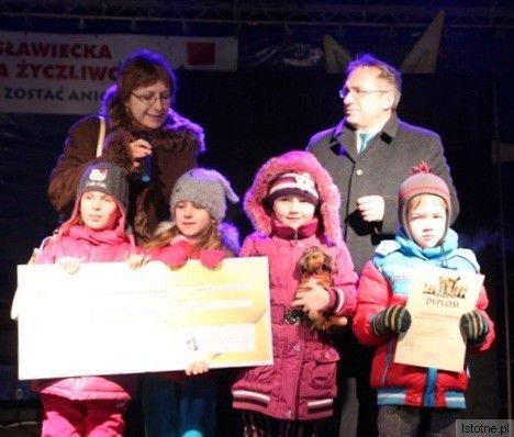 Pierwszą nagrodę w konkursie zdobyła grupa sześciolatkow z MPP nr 4
