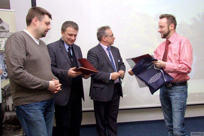 Grzegorz Matoryn, Tomasz Gabrysiak, Piotr Roman i Krzysztof Gwizdała