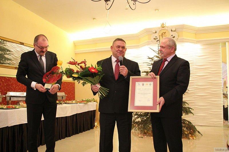 Cezary Przybylski, Andrzej Rogoziński i Karol Stasik