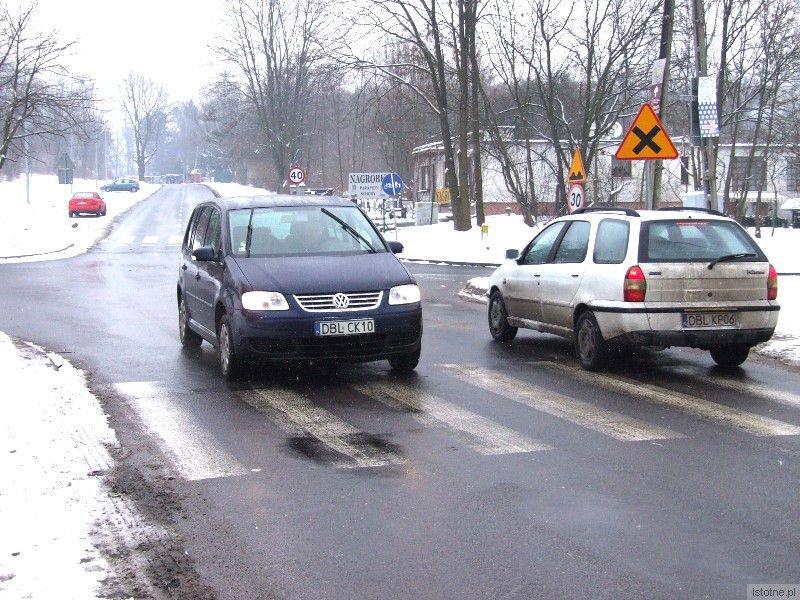 Skrzyżowanie ulicy Śluzowej z Gdańską