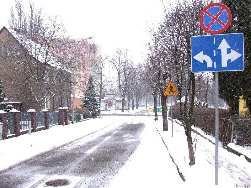 Zmiana organizacji ruchu dla jadących jednokierunkową ulicą Narutowicza w kierunku skrzyżowania z ulicą Murarską