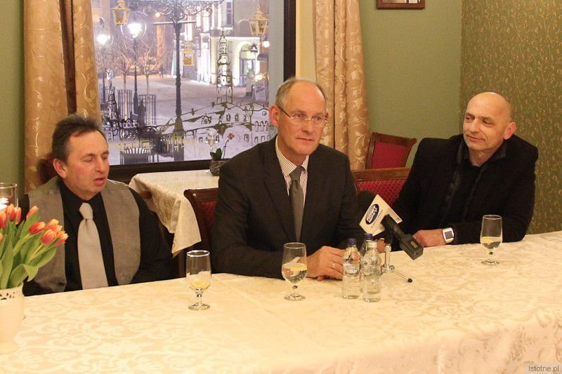 Przemysław Moszczyński, Robert Kwiatkowski, Bogusław Nowak