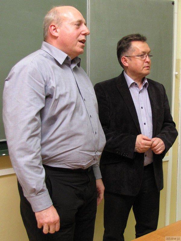 Zdzisław Czyżowicz i Mirosław Sakowski