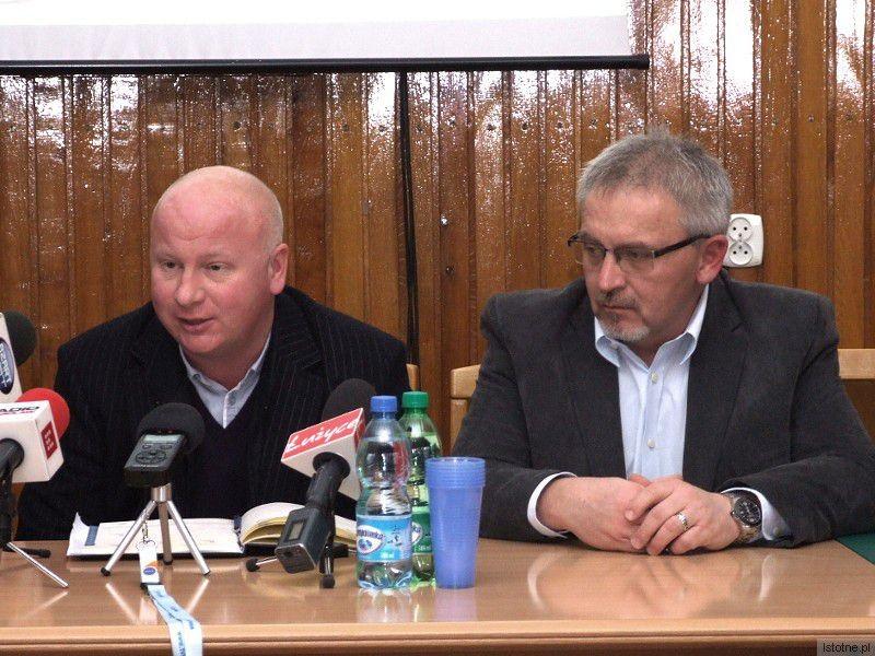 Adam Zdaniuk i Nikolai Lambrinow