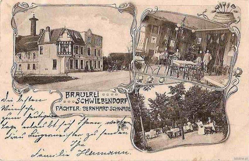 Browar w Świeborowicach na przełomie XIX i XX wieku. Budynek zachowany do naszych czasów, obecnie pełni rolę mieszkalną. Usytuowany przy trasie Wrocław-Zgorzelec