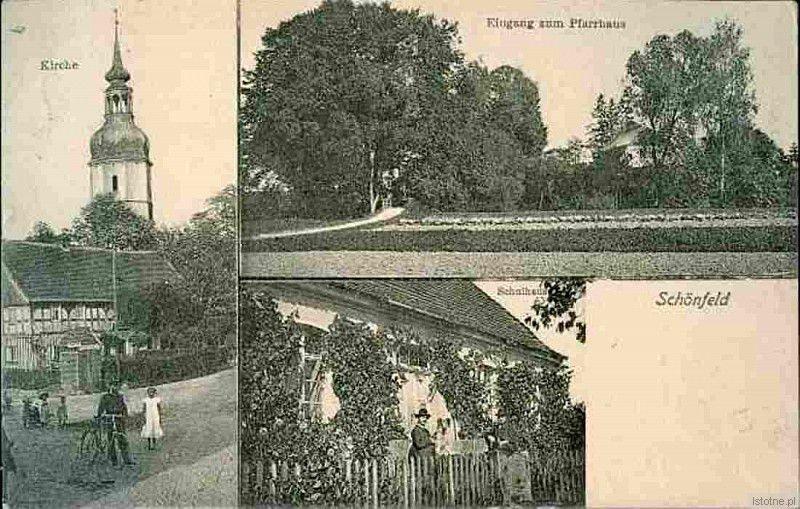 Pocztówka z 1910 roku prezentująca Kraśnik Dolny