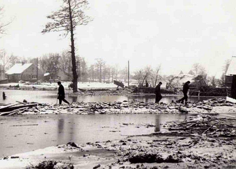 Zdjęcie wykonane po tragedii w 1967 roku