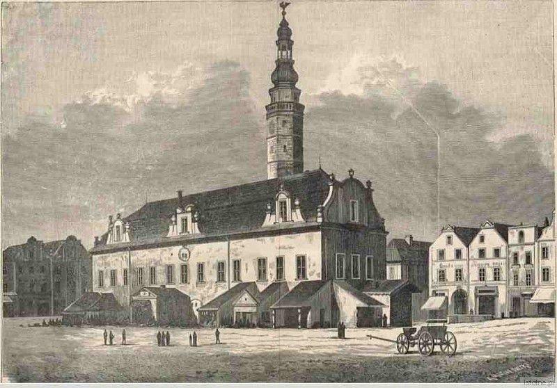 Rycina z początku XVIII wieku