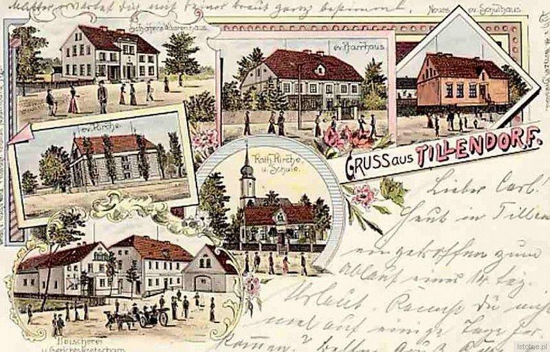 Karta pocztowa z 1901 roku