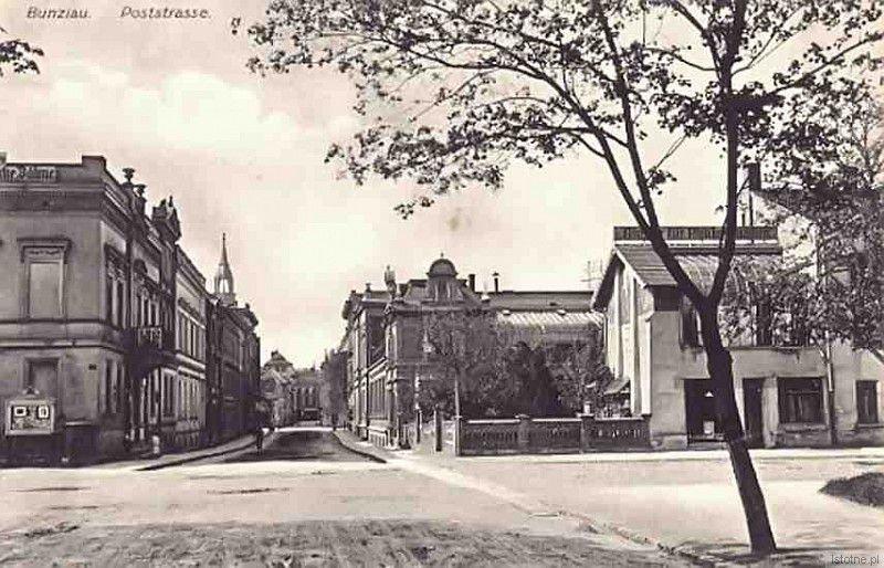 Ulica Adama Mickiewicza w latach 20. XX wieku