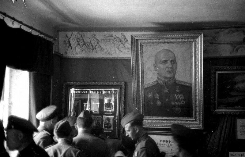 Wnętrze muzeum Kutuzowa
