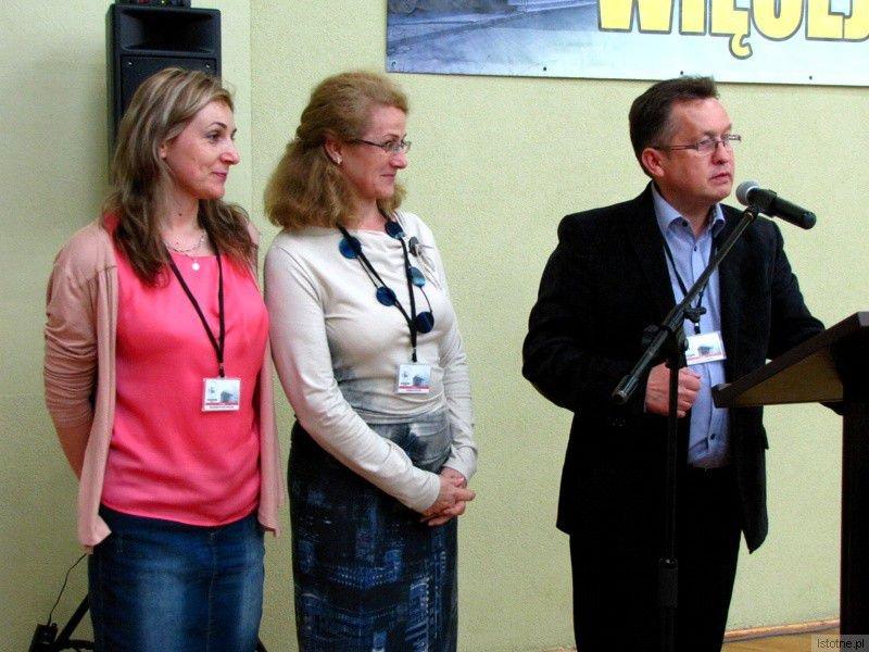 Małgorzata Matyjaszczuk, Barbara Sykulska i Mirosław Sakowski
