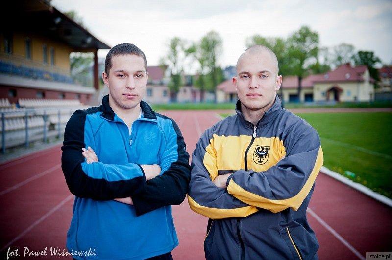 Dawid Kopała i Kacper Olszewski