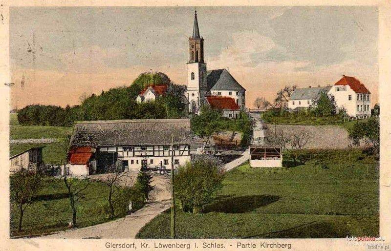 Pocztówka panoramiczna z początku XX wieku