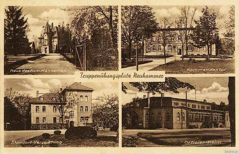 Zabudowania Świętoszowa w 1938 roku