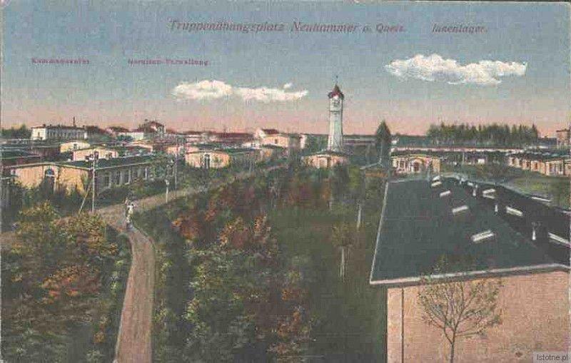 Wieża ciśnień na początku XX wieku