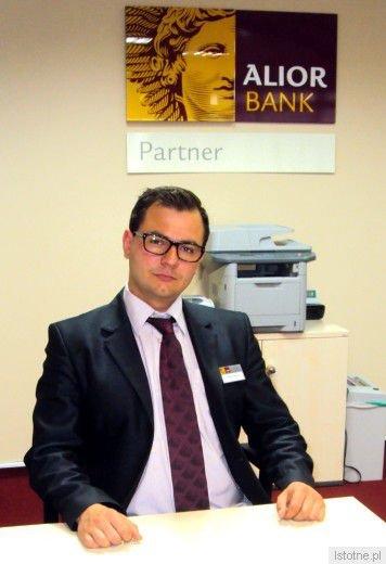 Michał Turbak - doradca Alior Banku