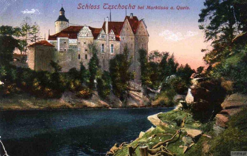 Kolorowa pocztówka z początku XX wieku