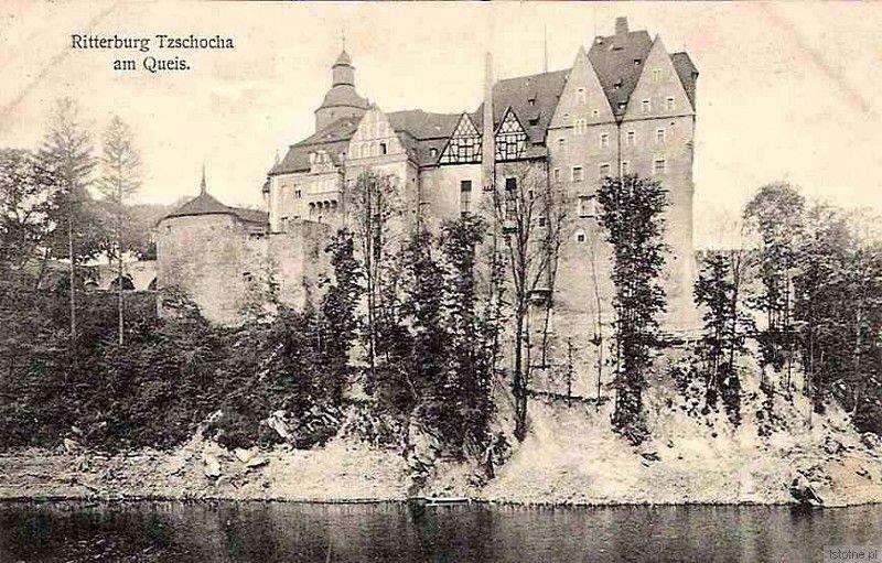 Zamek od strony Kwisy