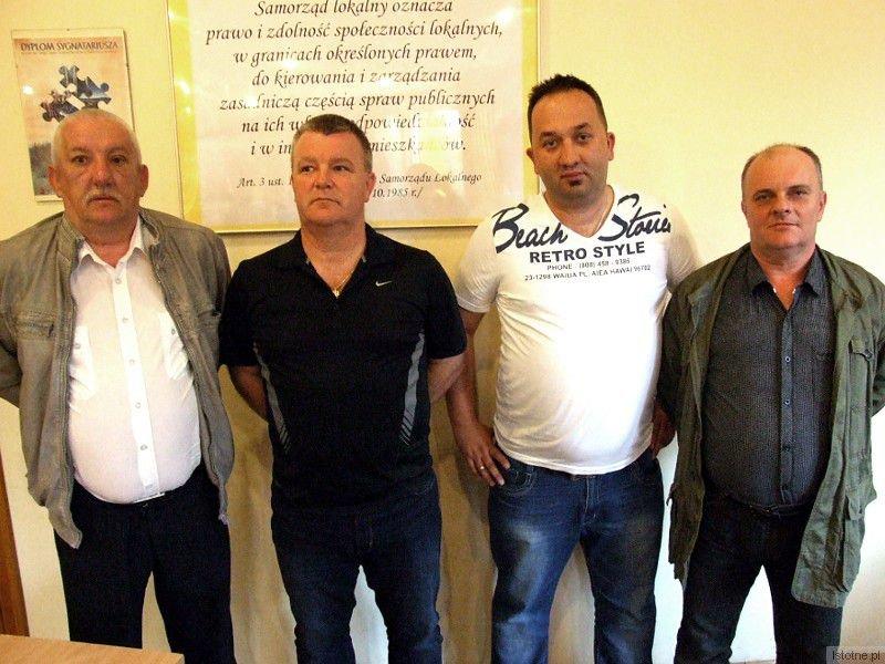 Od lewej: Mirosław Lik, Janusz Rajczakowski, Sebastian Zaremba i Dariusz Mielcarek
