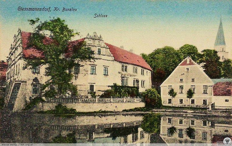 Pałac w Gościszowie w pierwszej połowie XX wieku