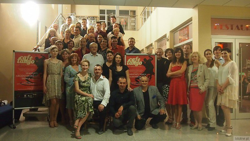 Uczestnicy projektu Cafe Tango