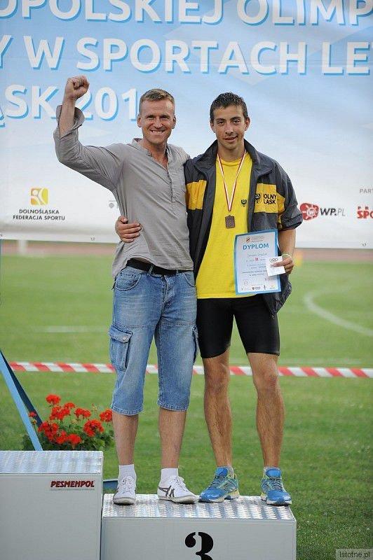 Bartosz Gruman i Damian Gradzik