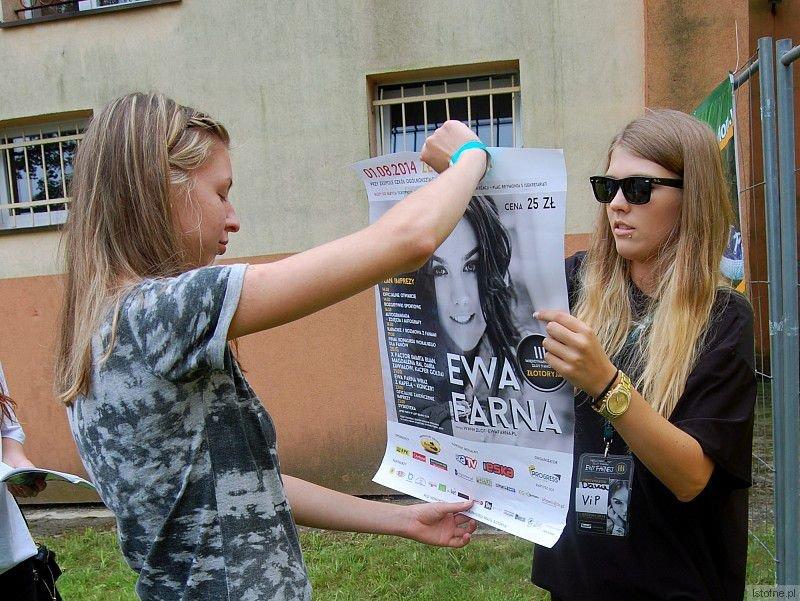 Julia Lisiecka i Kasia Majka na III Międzynarodowym Zlocie Fanów