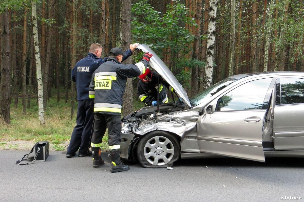 Wypadek przed Kliczkowem