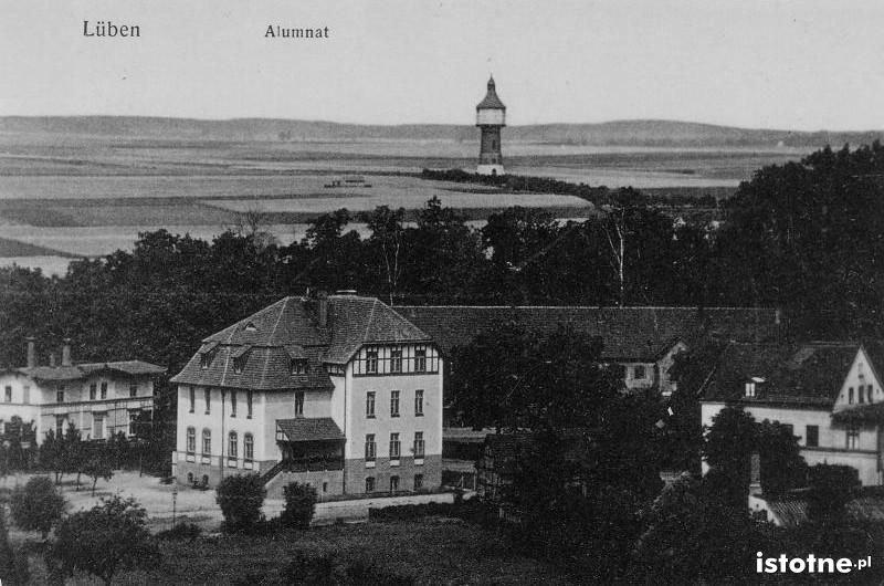Lubin na pocztówce z początku XX w.