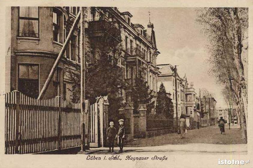 Ulica 1 Maja na początku XX w.
