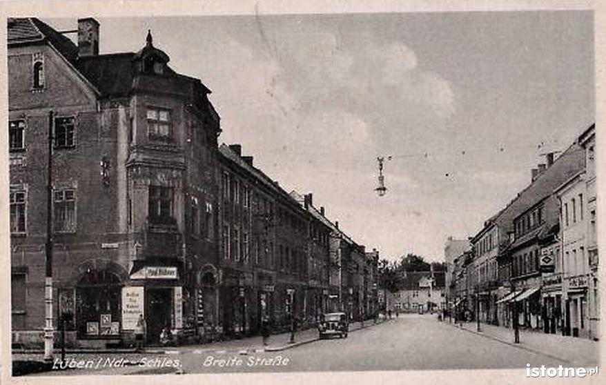 Ulica Tysiąclecia w latach 40. XX w.
