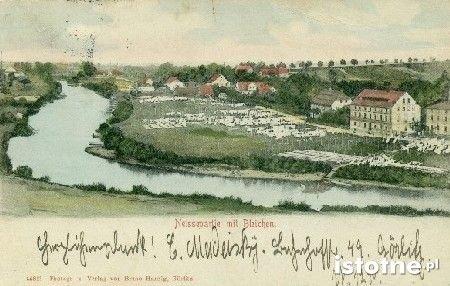 Urokliwe nadbrzeże ul. Nadbrzeżnej w 1902 r.