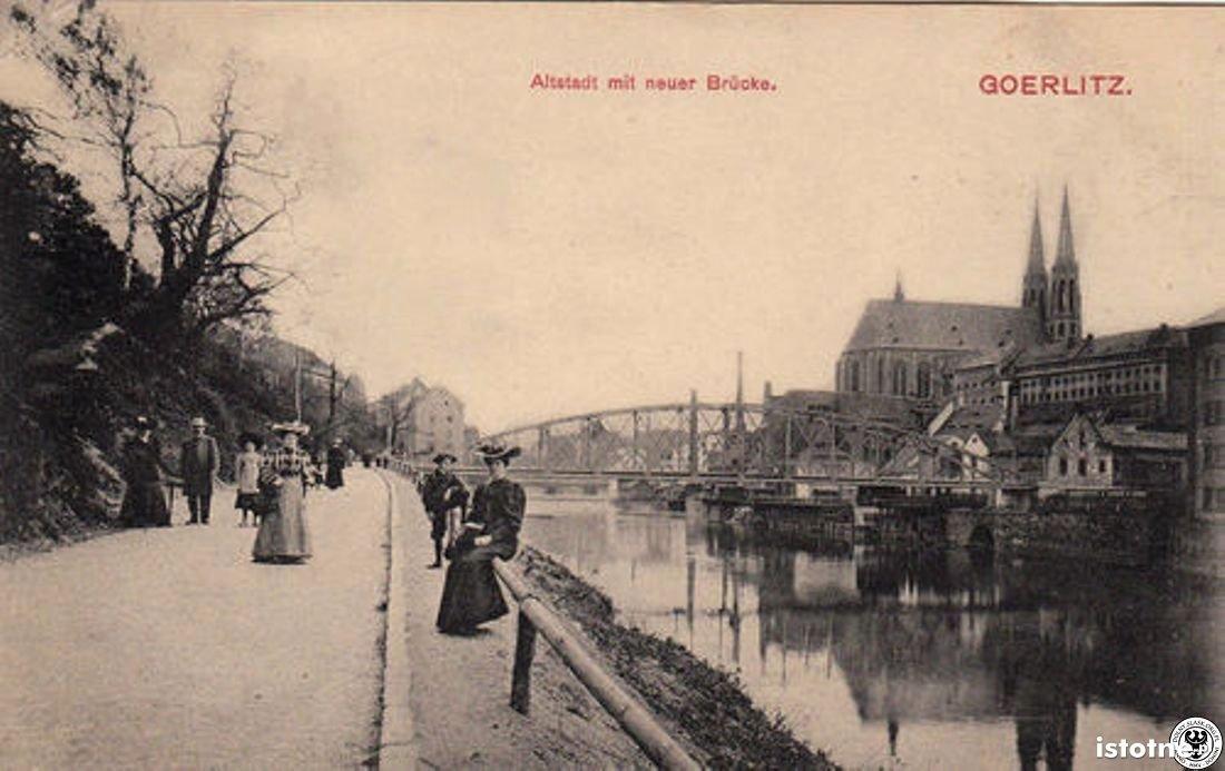 Promenada z widokiem na Kościół w 1906 r.