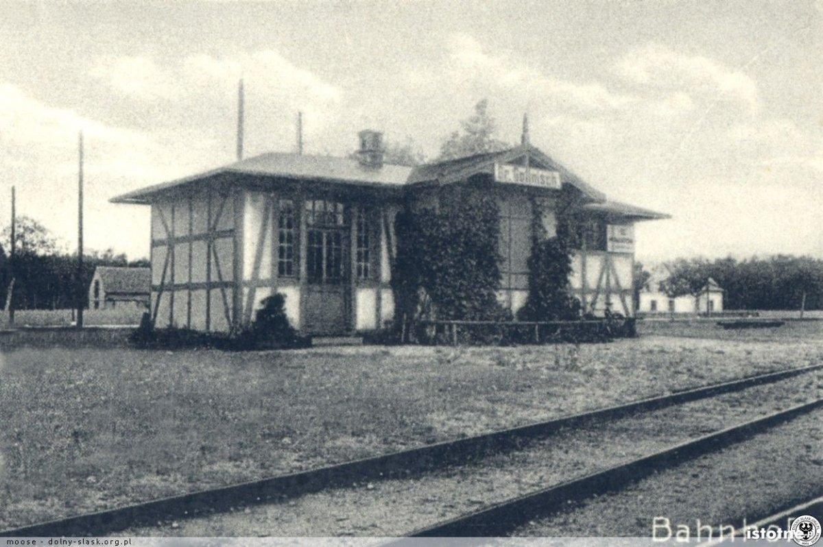 Przystanek stacji kolejowej w Golnicach