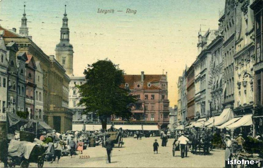 Legnicki Rynek w 1832 r.