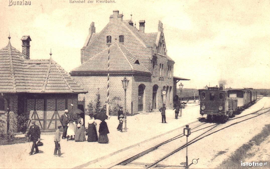 Mały dworzec kolejowy w Bolesławcu