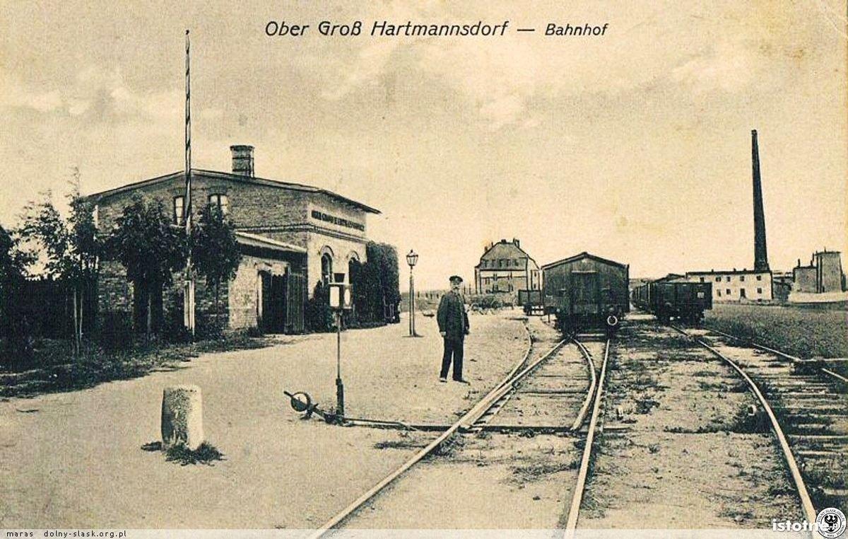 Stacja kolejowa w Raciborowicach Górnych