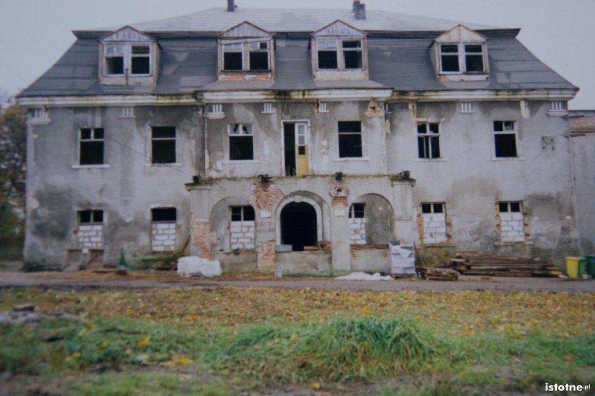Pałac na przełomie XX i XXI w.