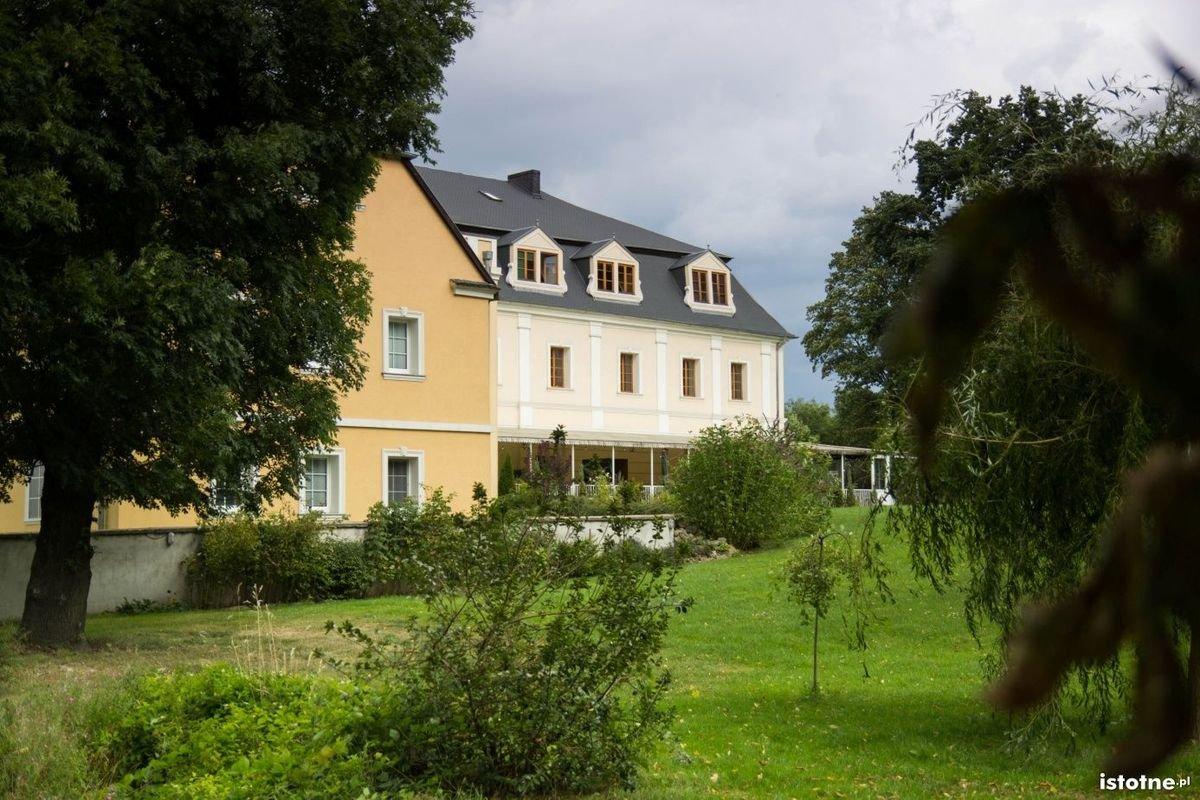 Zabudowania pałacowe w sierpniu 2014 r.