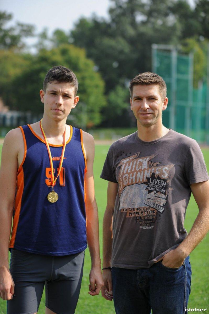 Mateusz Tofil i Paweł Wiśniewski