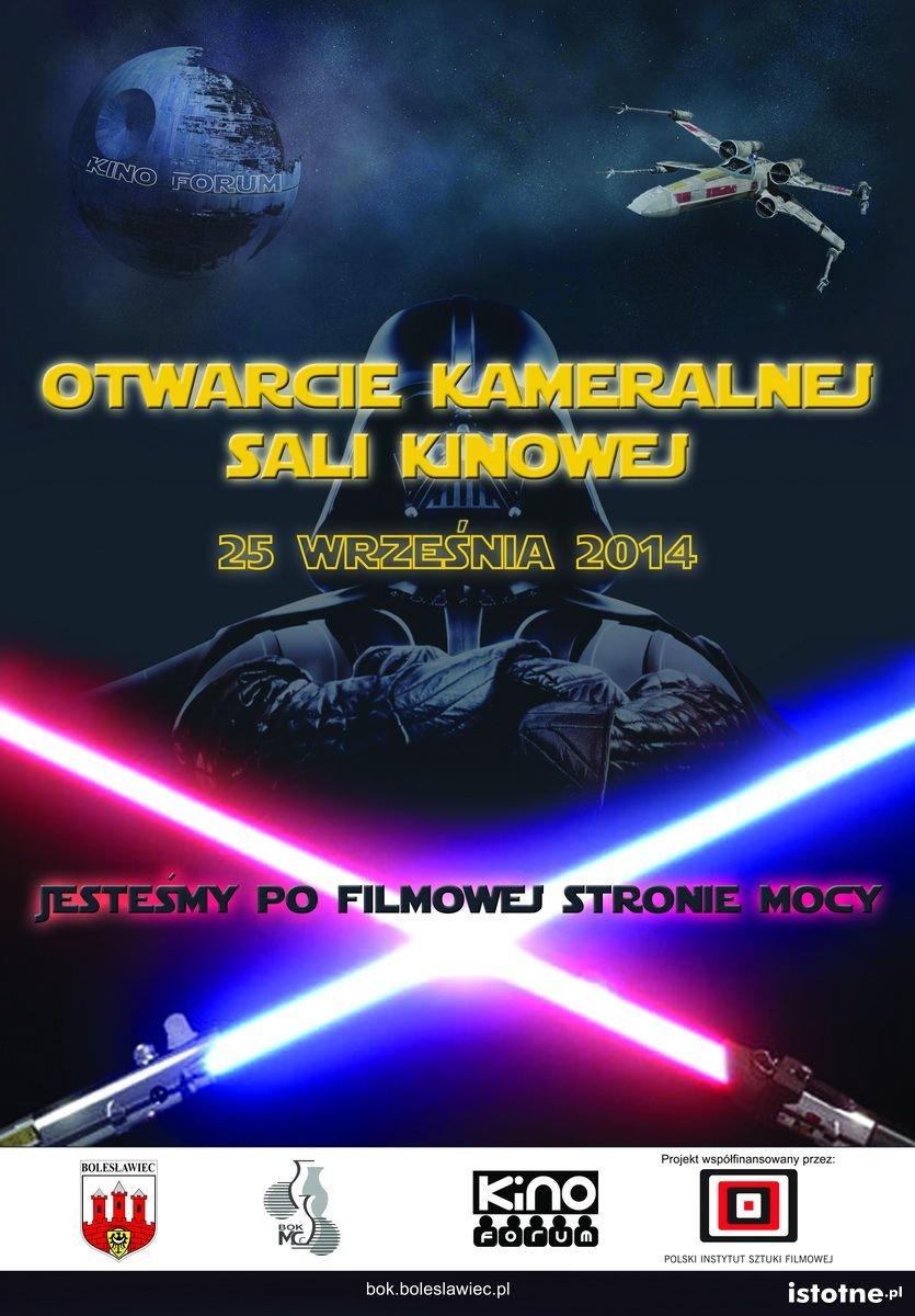 plakat otwarcia sali Kameralnej w Forum