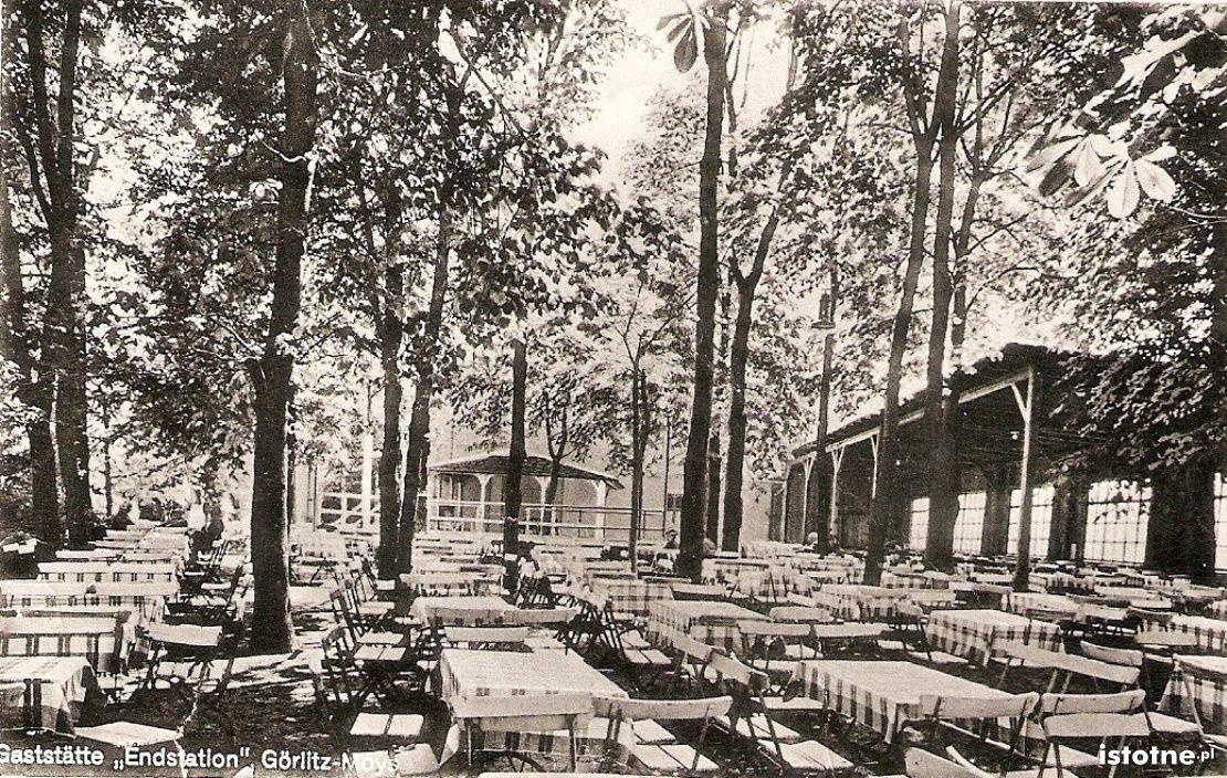 Dawna restauracja plenerowa przy ul. Łużyckiej