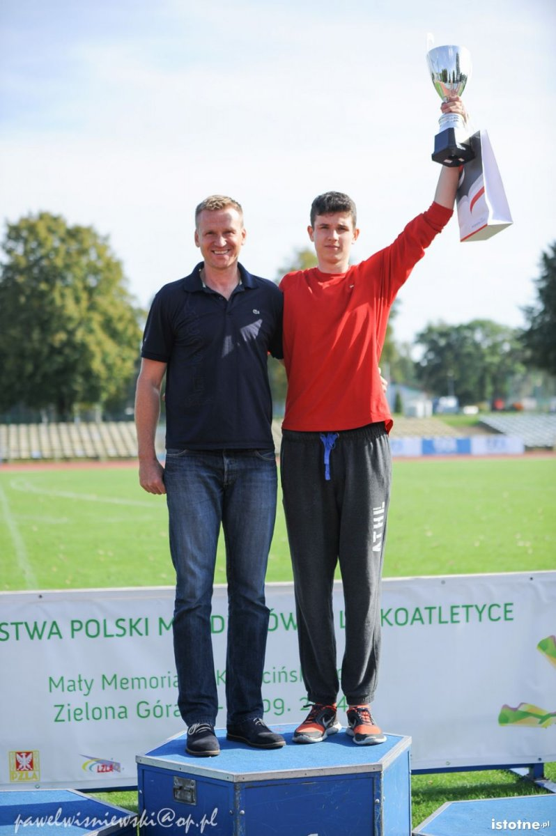 Bartosz Gruman i Mateusz Tofil
