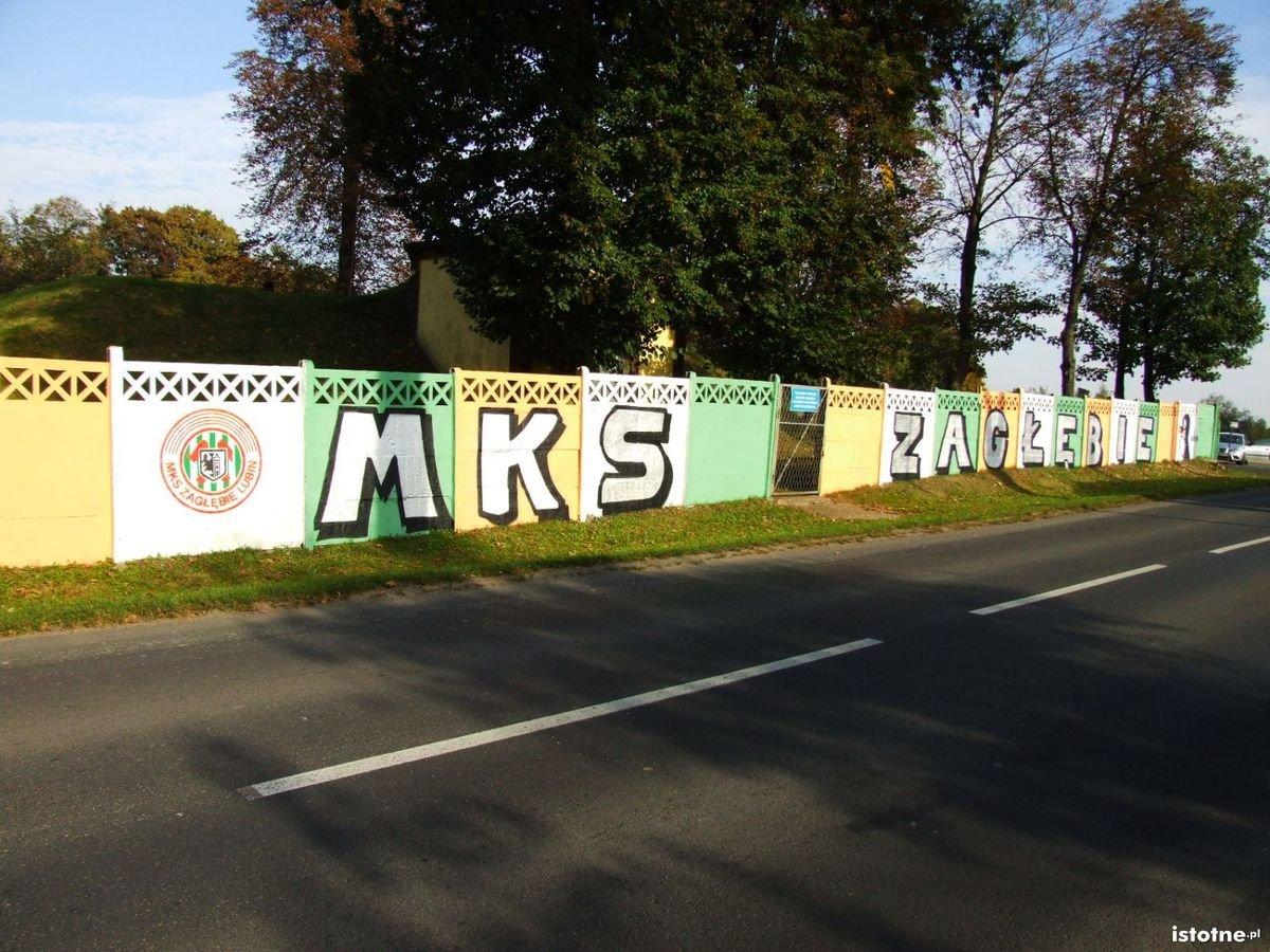 Kolejne graffiti Zagłębia w Bolesławcu