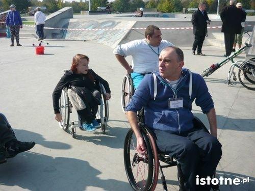 Niepełnosprawni na zawodach