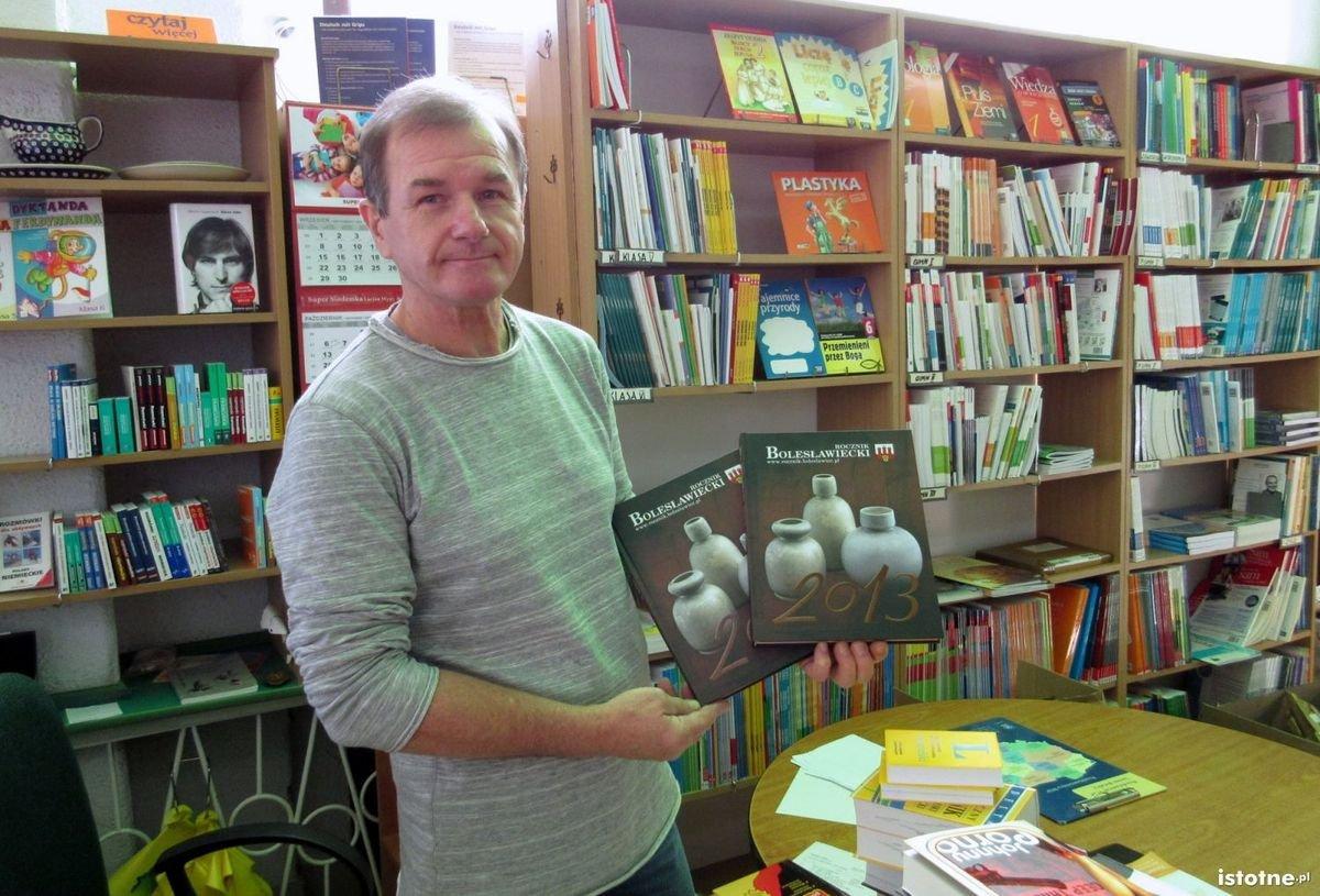 Rocznik Bolesławiecki dostępny jest w księgarni Agora w Rynku