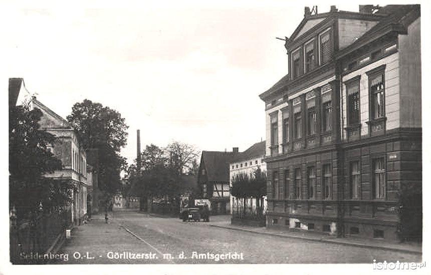 Ulica Zgorzelecka w latach 30. XX wieku